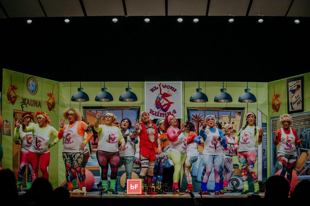 Los Mirinda en semifinales del COMBA 2019. El Yoni